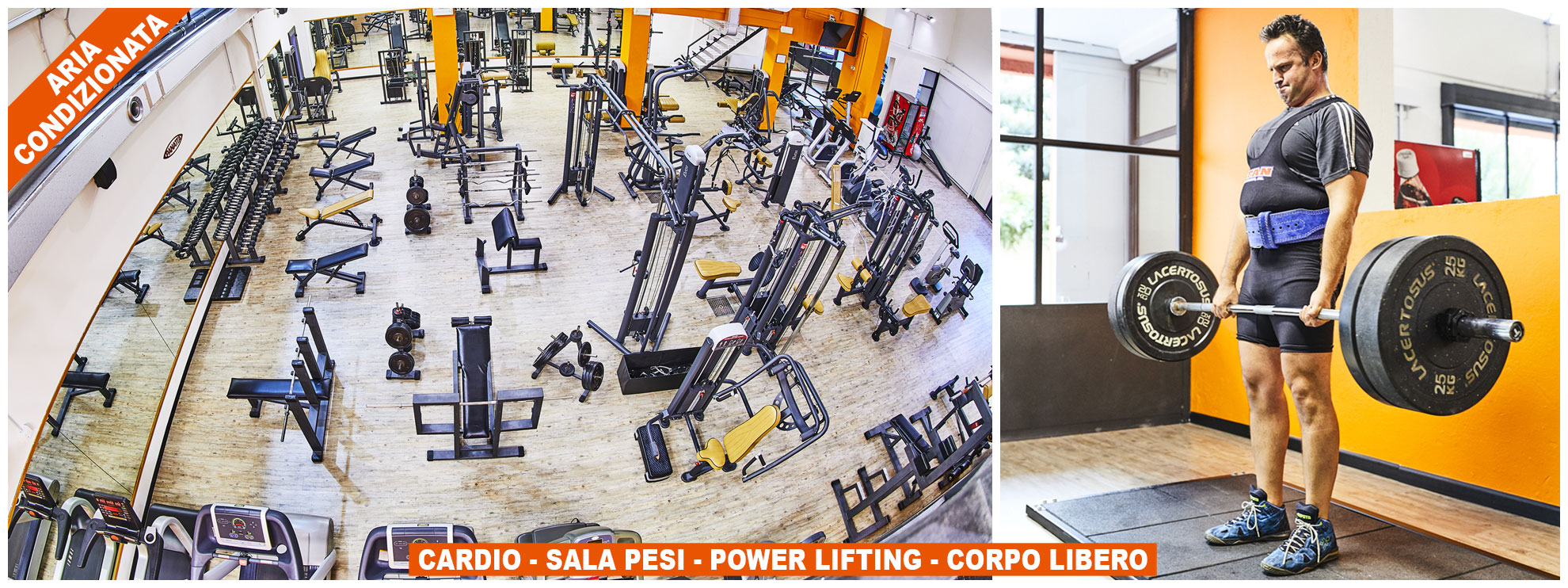 Cardio - Sala Pesi - Power Lifting - Corpo Libero